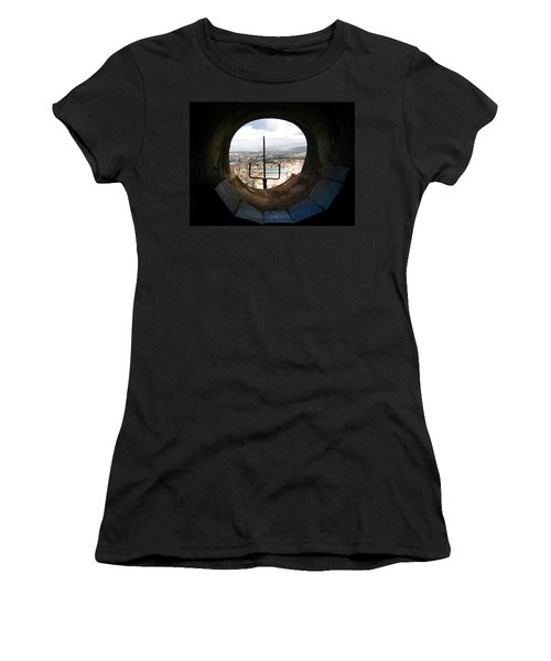 Inside The Duomo Dome Women's T-Shirt (Athletic Fit)