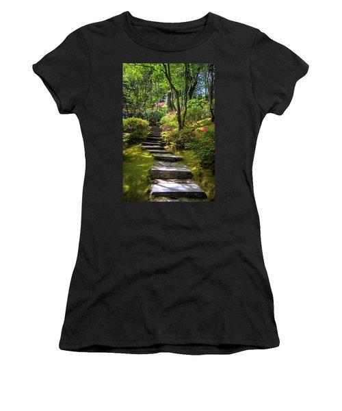 Garden Path Women's T-Shirt (Athletic Fit)