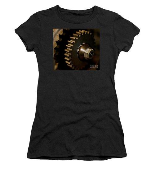 Gears  Women's T-Shirt (Junior Cut) by Wilma  Birdwell