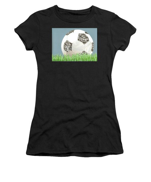 Go For It Women's T-Shirt (Athletic Fit)