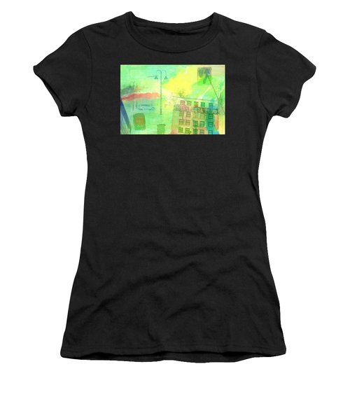 Going Places Women's T-Shirt (Athletic Fit)