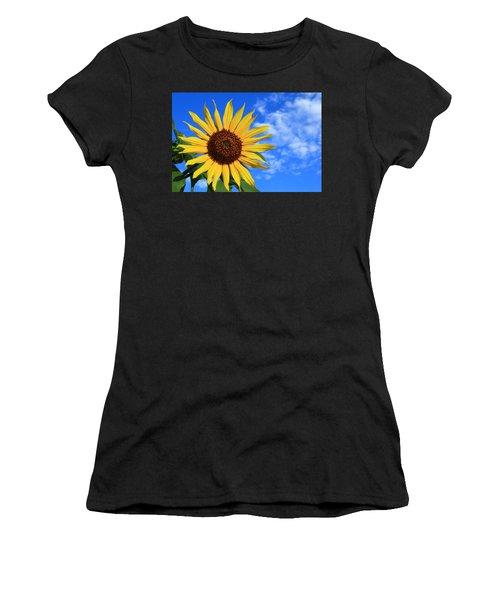 Golden Sunflower Women's T-Shirt (Athletic Fit)