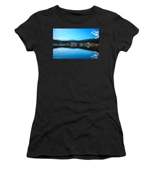 Women's T-Shirt (Junior Cut) featuring the photograph Golf Course by Shannon Harrington