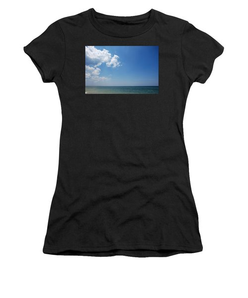 Gulf Sky Women's T-Shirt (Athletic Fit)