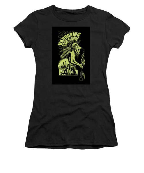 Harboring This Plague Women's T-Shirt (Athletic Fit)