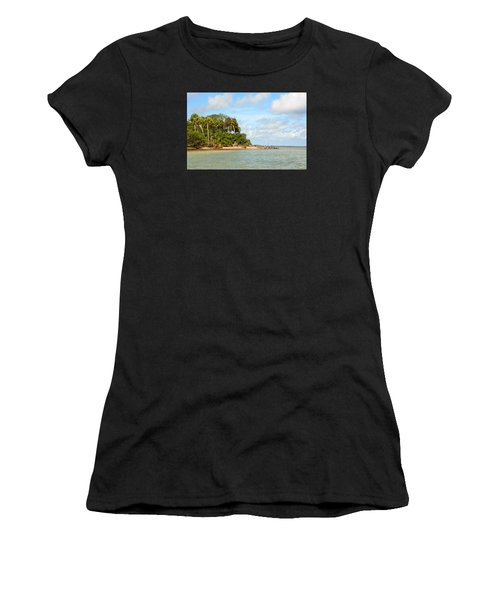 Heavenly Island View  Women's T-Shirt (Athletic Fit)