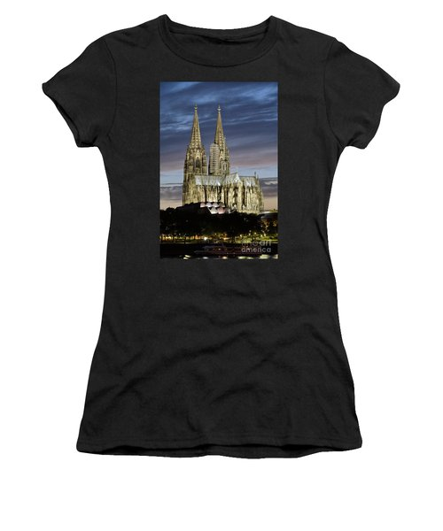 High Cathedral Of Sts. Peter And Mary In Cologne Women's T-Shirt