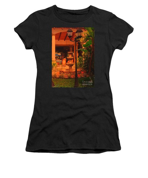 Women's T-Shirt (Junior Cut) featuring the photograph Hotel Alhambra by Lydia Holly