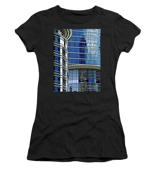 Houston Architecture 1 Women's T-Shirt (Athletic Fit)