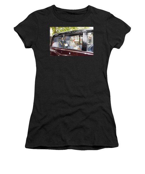 Hrh Prince Charles And Camilla Women's T-Shirt