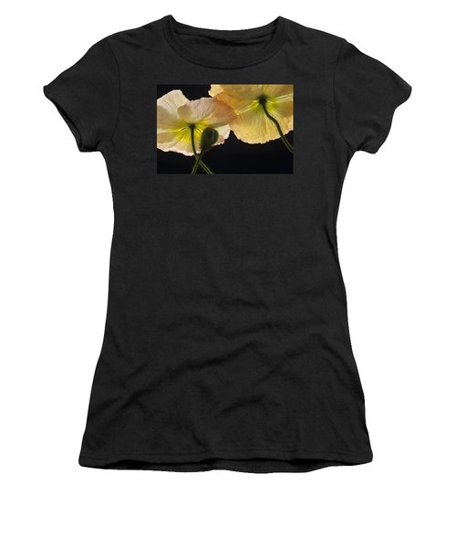 Iceland Poppies 2 Women's T-Shirt (Athletic Fit)
