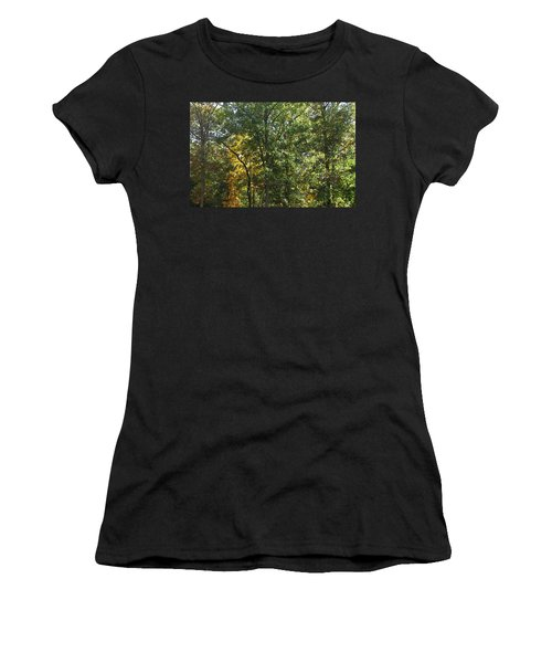 Women's T-Shirt (Junior Cut) featuring the photograph Image Of Fall by Pamela Hyde Wilson