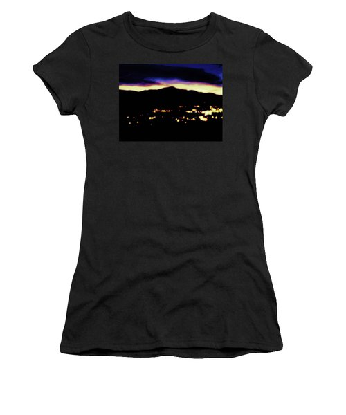 Impressionistic Pikes Peak Women's T-Shirt (Athletic Fit)