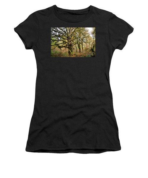 In The Rain Forest Women's T-Shirt (Athletic Fit)
