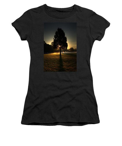 Inspirational Tree Women's T-Shirt (Athletic Fit)