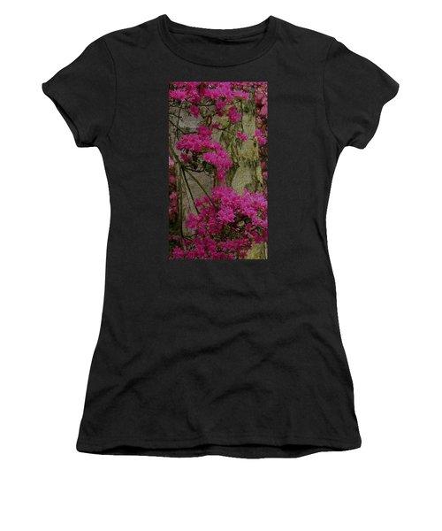 Japanese Painting Women's T-Shirt (Junior Cut) by Manuela Constantin