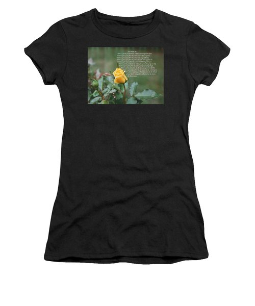 Just From Me Women's T-Shirt (Athletic Fit)