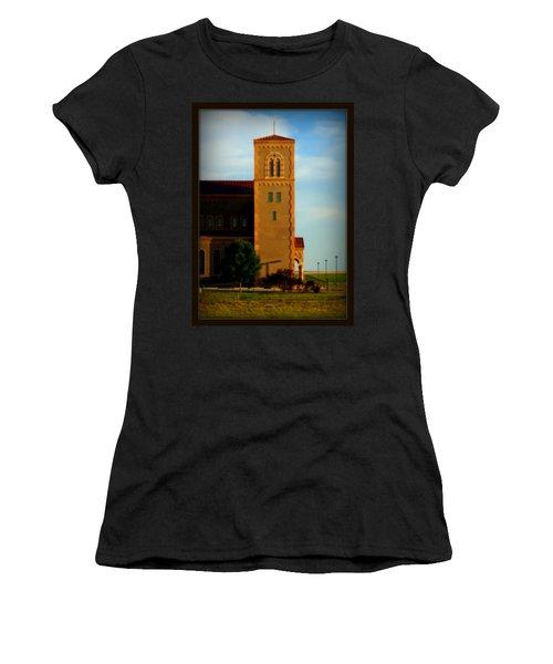 Kansas Architecture Women's T-Shirt (Junior Cut) by Jeanette C Landstrom