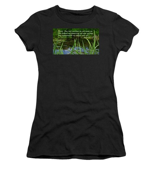 Known Through And Through Women's T-Shirt (Athletic Fit)