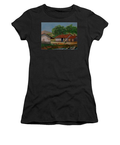 La Dama Del Rio Women's T-Shirt (Athletic Fit)