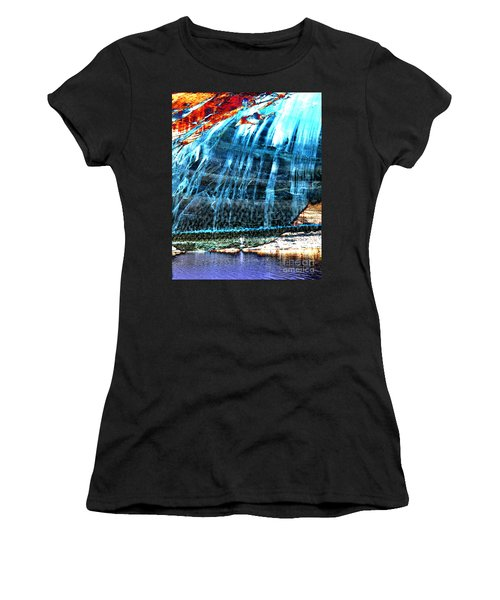 Lake Powell Reflection Women's T-Shirt (Junior Cut) by Rebecca Margraf