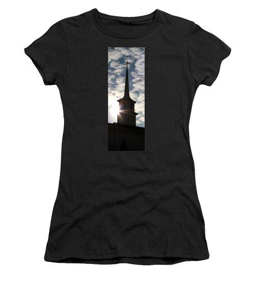Women's T-Shirt (Junior Cut) featuring the photograph Light by Kume Bryant