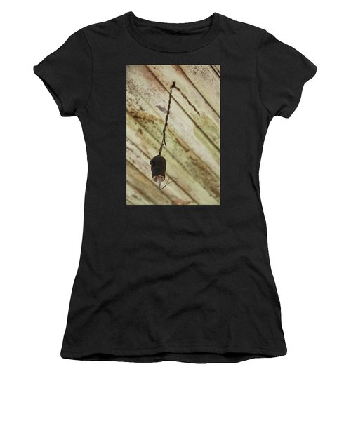 Lights Out Women's T-Shirt (Athletic Fit)