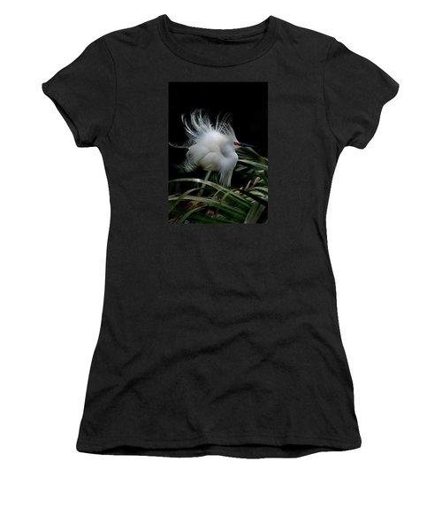 Little Snowy Women's T-Shirt (Athletic Fit)