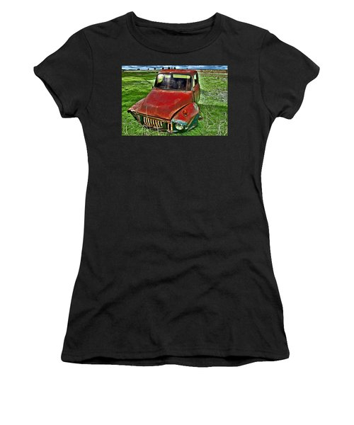Long Term Parking Women's T-Shirt (Athletic Fit)