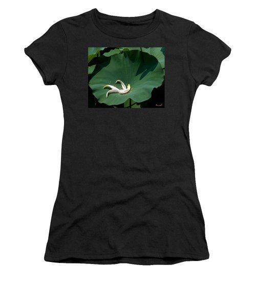Lotus Leaf--castoff IIi Dl060 Women's T-Shirt