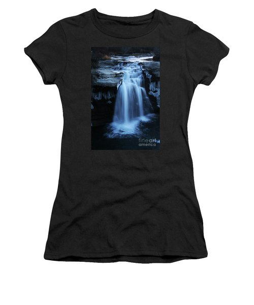 Lundbreck Falls Women's T-Shirt (Athletic Fit)