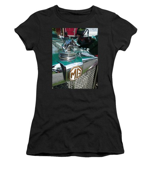 M G Hood 2 Women's T-Shirt (Athletic Fit)