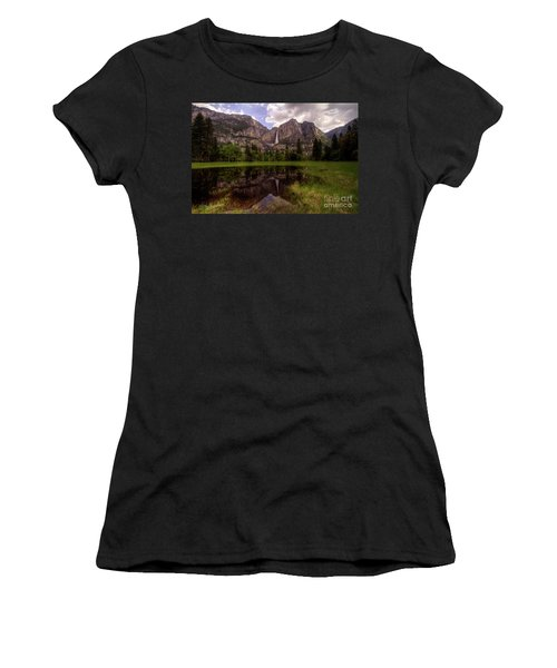 Majestic Reflections Women's T-Shirt (Athletic Fit)