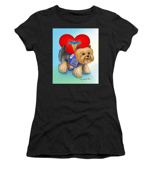Medical Alert Yorkie Women's T-Shirt