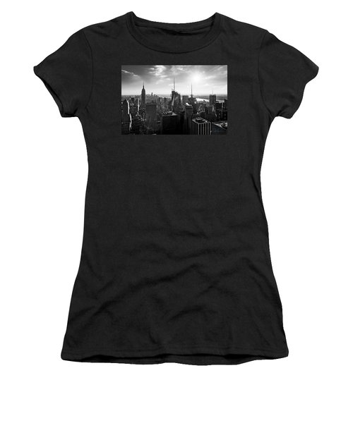 Midtown Skyline Infrared Women's T-Shirt