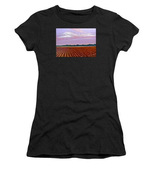 Mississippi Land And Sky Women's T-Shirt (Athletic Fit)