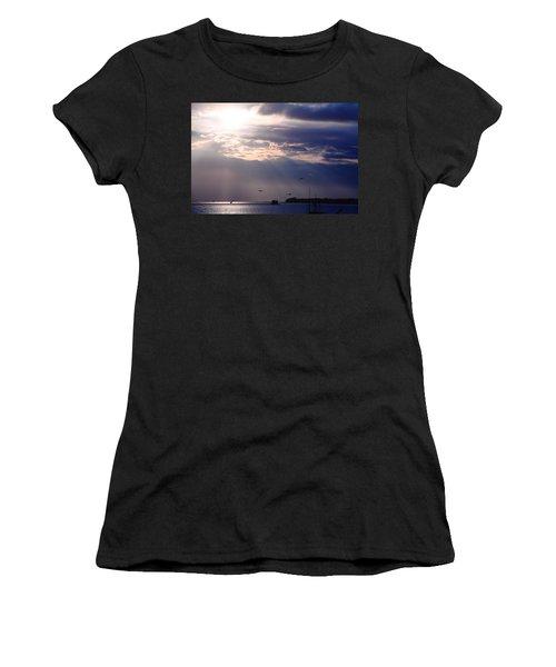 Moonlight Flight Women's T-Shirt (Athletic Fit)
