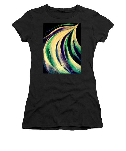 Moonlight In Water Fall Women's T-Shirt