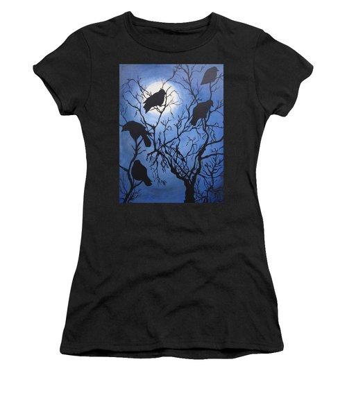 Moonlit Roost Women's T-Shirt (Athletic Fit)