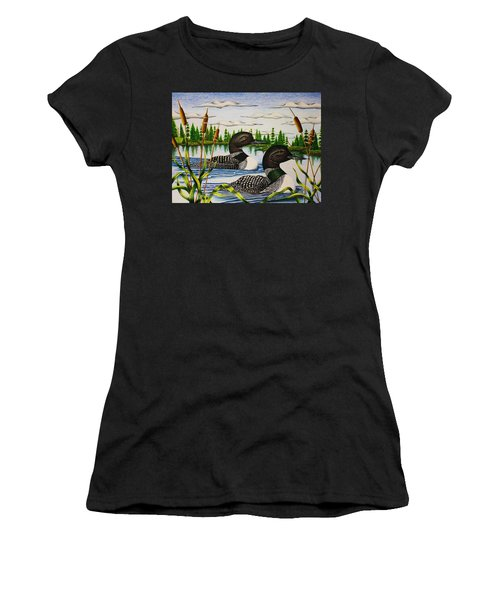 Morning Swim Women's T-Shirt (Athletic Fit)