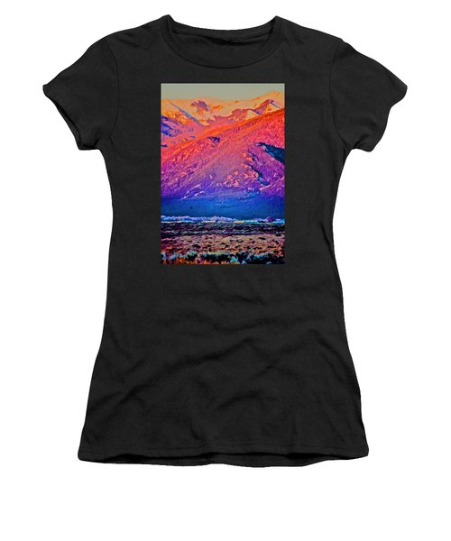 Mt Wheeler At Sunset Women's T-Shirt