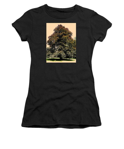Women's T-Shirt (Junior Cut) featuring the photograph My Friend The Tree by Juergen Weiss