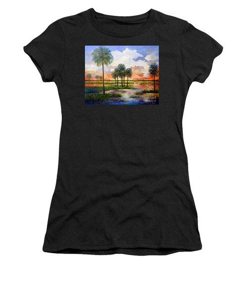 Myakka Sunset Women's T-Shirt (Athletic Fit)