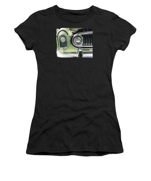 Women's T-Shirt (Junior Cut) featuring the photograph Nash Nose by John Schneider