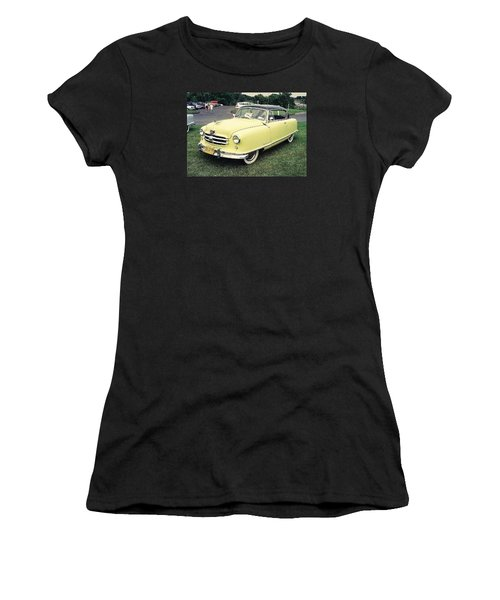 Women's T-Shirt (Junior Cut) featuring the photograph Nash Rambler by John Schneider