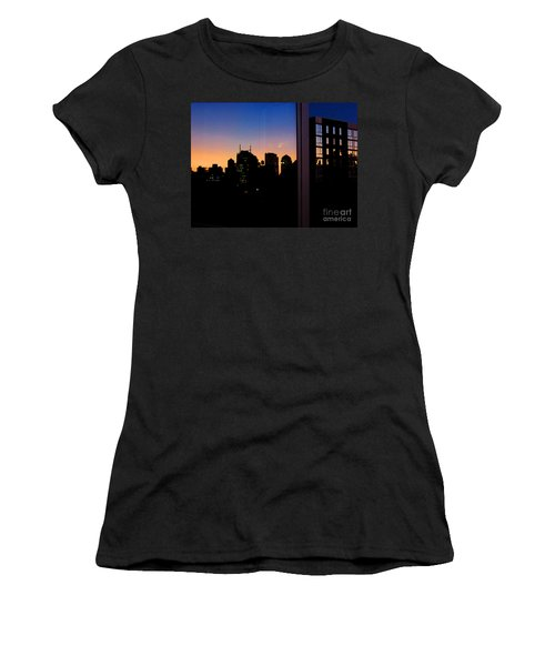 New York Reflections Women's T-Shirt (Athletic Fit)