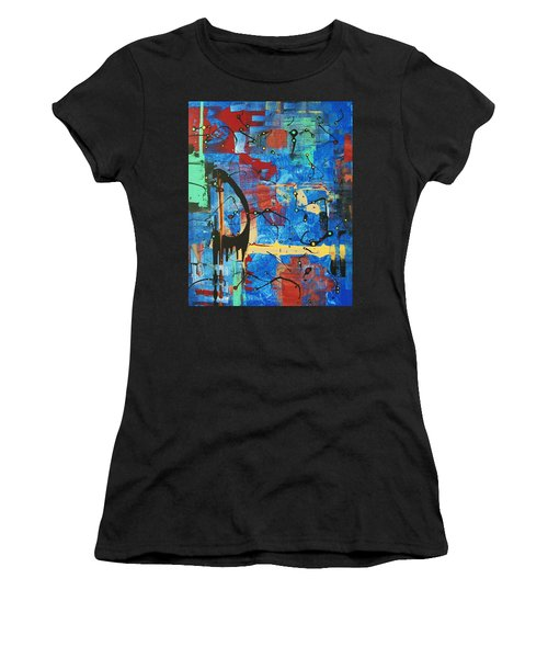 Norval Morrisseau On My Mind Women's T-Shirt (Athletic Fit)