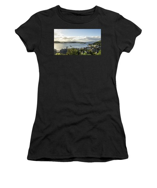 Oban Bay View Women's T-Shirt (Athletic Fit)