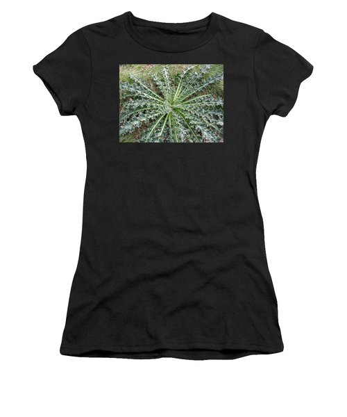October Thistle Women's T-Shirt (Athletic Fit)