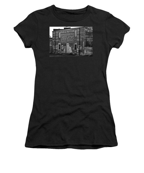 Old Building In Salisbury Nc Women's T-Shirt (Athletic Fit)